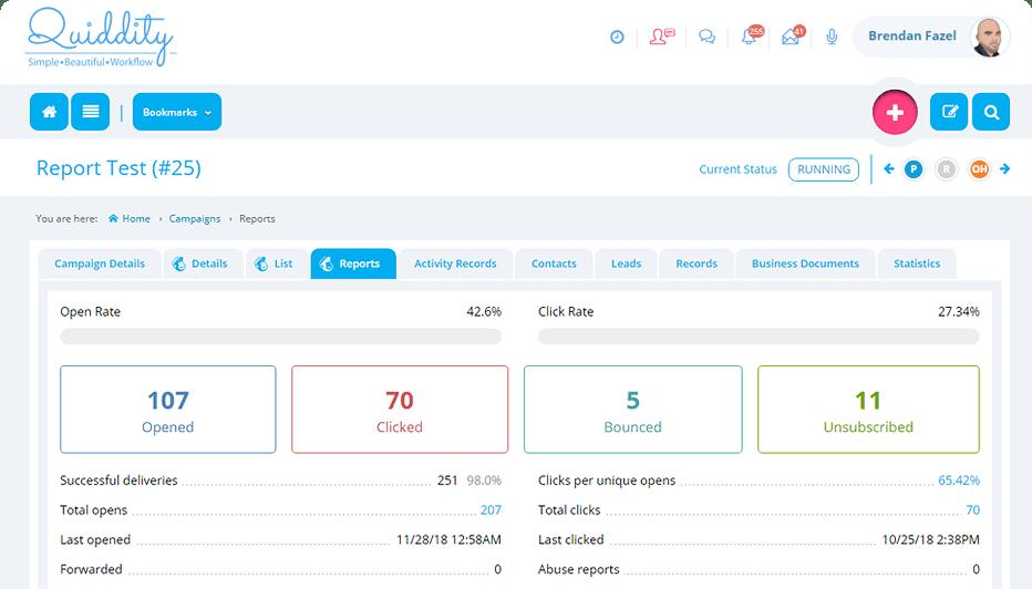 Get instant updates from MailChimp - Quiddity