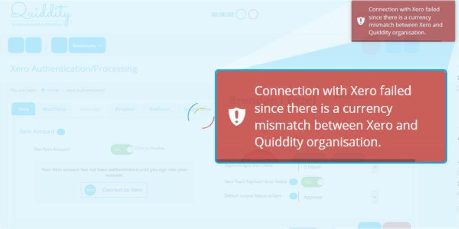 Xero CRM Integration 1 – Quiddity